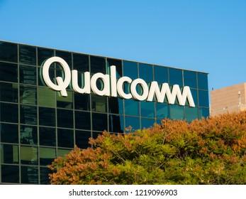 November 2, 2018 - Haifa, Israel. Qualcomm R&D center in Israel.