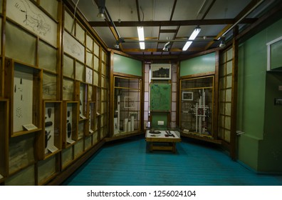 November, 2018 - Velsk. Exhibition halls of the Velsky Regional Museum. Russia, Arkhangelsk region