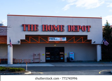 November 26, 2017; Paramus, NJ, USA. The Home Depot store in New Jersey.