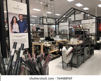 NOVEMBER 27 2017 - CRYSTAL, MN: Target's new Hearth & Hand home decor  collaboration with Chip and Joanna Gaines' Magnolia line is in stores for the holiday shopping season