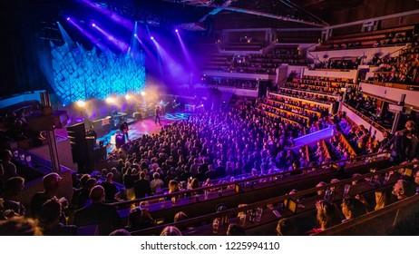 November 3, 2018. TivoliVredenburg, Utrecht. Concert of Echt & the Bunnymen