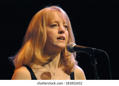 "NOVEMBER 6, 2005 - BERLIN: Maria Schneider at the concert of the ""Maria Schneider Orchestra"" at the ""Jazz Fest Berlin 2005"", Haus der Berliner Festspiele, Berlin."