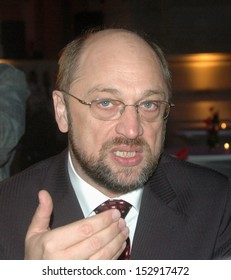 NOVEMBER 6, 2006 - BERLIN: Martin Schulz at a get together of European Social Democratic Parties in the Museum of Communication, Berlin.