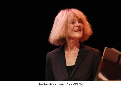 """NOVEMBER 6, 2011 - BERLIN: Carla Bley - concert of  """"The Swallow Quintett"""", Jazzfest 2011, Berlin."""