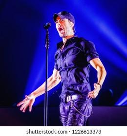 November 9, 2018. Ziggo Dome, Amsterdam. Concert of Enrique Iglesias