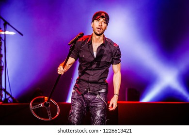 November 9, 2018. Ziggo Dome, Amsterdam. Concert of Enrique Iglesias