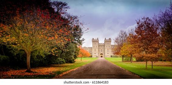 November fall castle