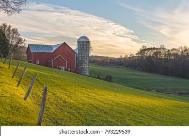 November Golden Hour At Ochs Orchard  Ochs Orchard is a three generation family farm in Warwick, NY.