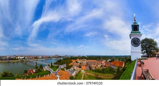 Novi Sad panorama - Serbia - architecture travel background - Shutterstock ID 379749133