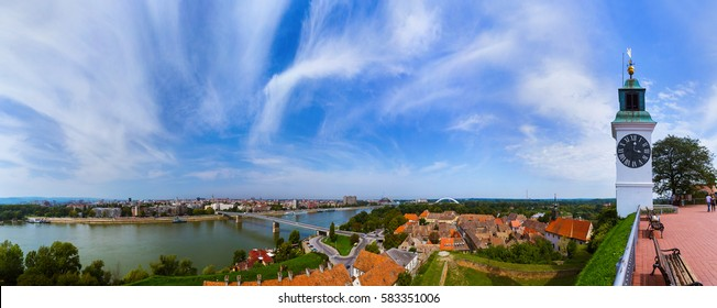 Novi Sad panorama - Serbia - architecture travel background - Shutterstock ID 583351006
