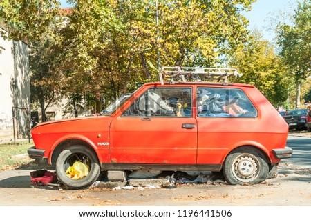 Novi Sad Serbia 05 October 2018 Stock Photo Edit Now 1196441506