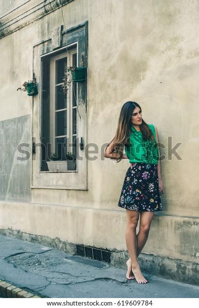 Teen girls in Novi Sad