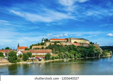 Novi Sad, Serbia - June 25, 2018: Petrovaradin fortress in Novi Sad.