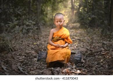 novice boys evening meditation