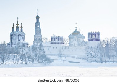 Novodevichiy convent in Moscow. Russia