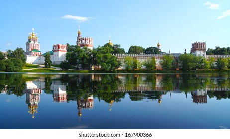 Novodevichy Convent , Moscow, Russia.
