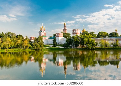 Novodevichy convent in Moscow, Russia.