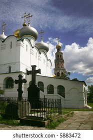 Novodevichy orthodox convent in Moscow, Russia