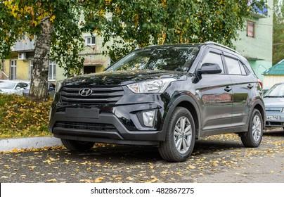 Novokuznetsk, Russia - September 10, 2016: Hyundai Creta (ix25)