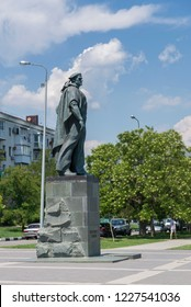 Novorossiysk, Russia - July 9: Unknown sailor's monument in Novorossiysk on July 9, 2018 in Novorossiysk, Russia.
