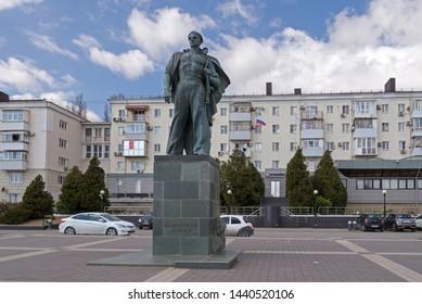 Novorossiysk, Russia - March 25: Unknown sailor's monument in Novorossiysk on March 25, 2019 in Novorossiysk, Russia.