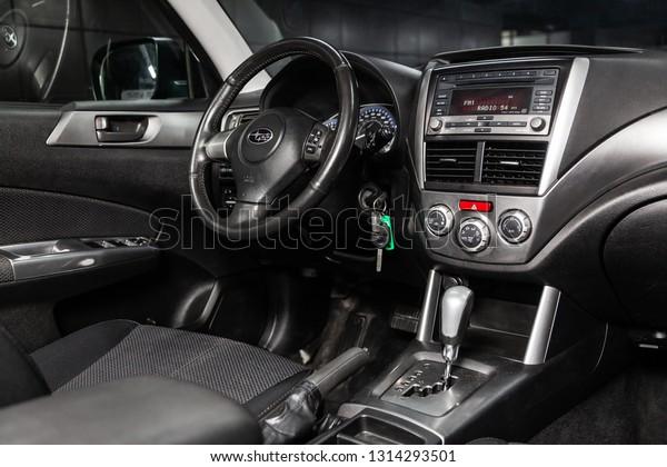 Novosibirsk Russia February 15 2019 Subaru Stock Photo (Edit