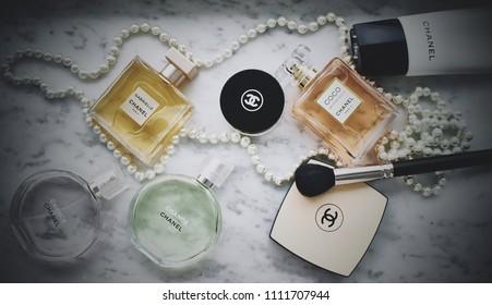 Novosibirsk,Russia - March 25,2018: Chanel perfum