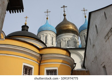 Novospassky Monastery New monastery of the Saviour, is one of the fortified monasteries surrounding Moscow from the south-east.