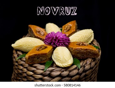 Novruz holiday bakery poster