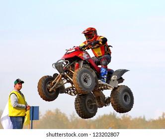 Motor Bike Jump Images, Stock Photos & Vectors | Shutterstock