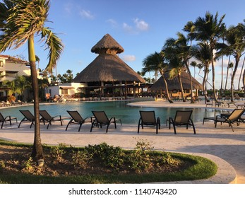 Now Larimar resort in beautiful Punta Cana, great weather at the pool side with surrounding coconut trees
