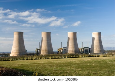 A now redundant nuclear power station