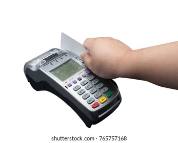 Now, you could have done a lot of things with that credit card last night. Clipping Path