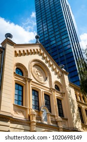 Nozyk Synagogue, the only surviving the World War II. Warsaw Jewish Commune, Poland