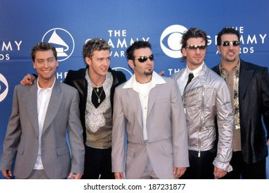 'NSync at 2002 Grammy Awards, LA, CA 2/27/2002