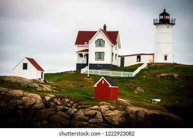 Nubble Lighthouse in York, Maine.