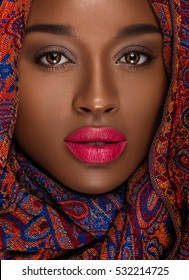 Nubian Queen / Natural Makeup