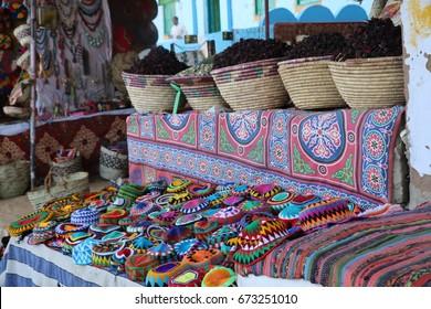 Nubian village / Aswan Egypt / Colorful Aswan