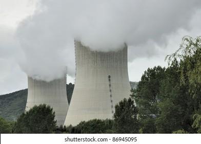 nuclear chimney vapors, ardennes