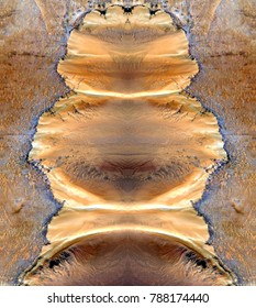 nuclear doll,symmetrical photographs of abstract landscapes of the deserts of Africa from the air, magical, artistic, landscapes of your mind, just for crazy, optical illusions