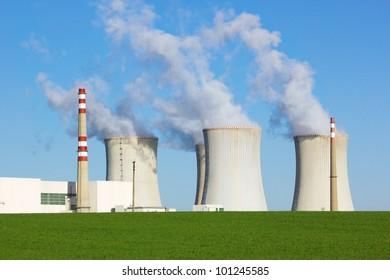 Nuclear power plant, Dukovany, Czech Republic