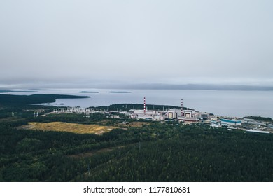 Nuclear Power Plant equipped with a Atomic Reactor. called the Kola Nuclear Power Station. located in Polar Dawns town on the Kola Peninsula in Nothern Russia