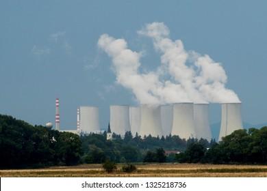 Nuclear Power Plant Mochovce Slovak Republic