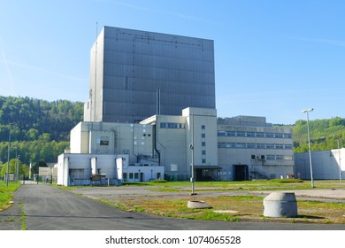 The Nuclear Power Plant (NPP) Würgassen was abandoned in 1995.   It was built in the 1970s, from 1995 on it was dismantled and freed from radioactive substances, district  Höxter, Germany