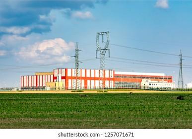 Nuclear power plant Temelin, Czech Republic