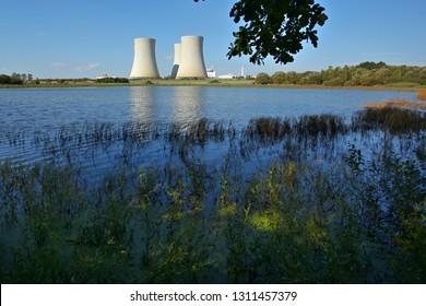 Nuclear power plant Temelin inoperative, Czech republic