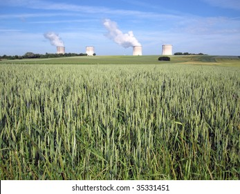 Nuclear Power Station in France