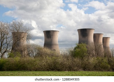 Nuclear Power Station in Willington now Abandoned