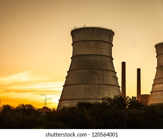 Nuclear reactor cooling tower, Cape Town, South Africa