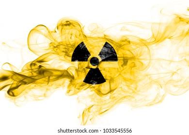 Nuclear smoke wave flag